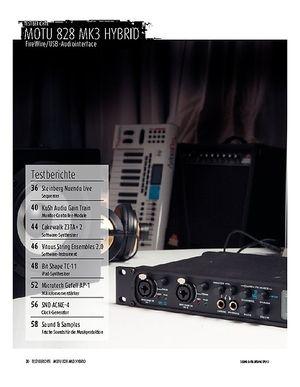 Sound & Recording MOTU 828 mk3 Hybrid - Audiointerface mit FireWire und USB 2.0