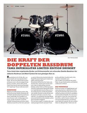 Sticks Tama Imperialstar Ltd. Edition Double Bassdrum Set