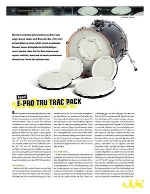 Sticks Test: Pearl E-Pro Tru Trac Pack