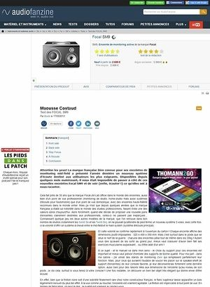 Audiofanzine.com Focal SM9