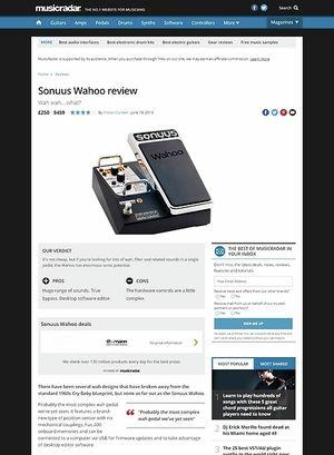 MusicRadar.com Sonuus Wahoo