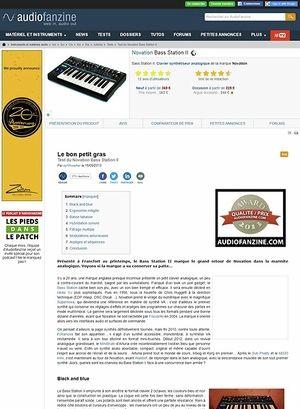 Audiofanzine.com Novation Bass Station II