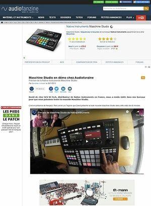 Audiofanzine.com Preview: Native Instruments Maschine Studio