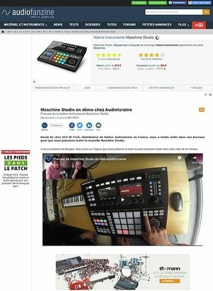 Audiofanzine.com Preview: Native Instruments Maschine Studio
