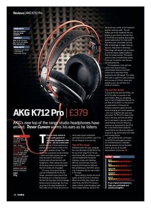 Future Music AKG K712 Pro