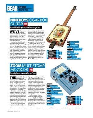 Total Guitar Zoom Multistomp MS-70CDR