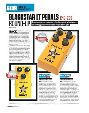 Total Guitar Blackstar LT Drive