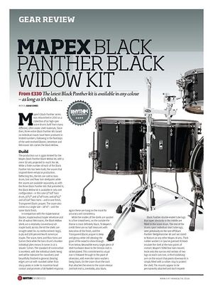 Rhythm Mapex Black Panther Black Widow Kit