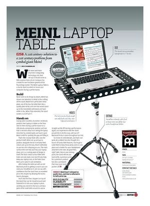 Rhythm Meinl Laptop Table