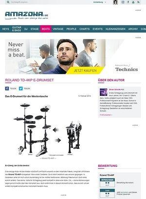 Amazona.de Roland TD-4KP E-Drumset