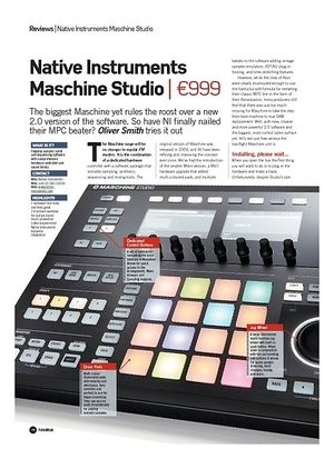 Future Music Native Instruments Maschine Studio