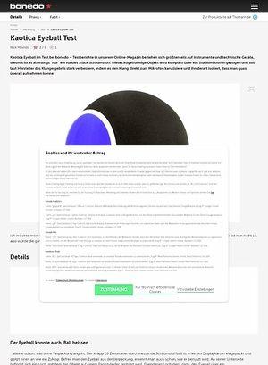Bonedo.de Kaotica Eyeball Test