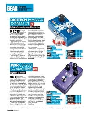Total Guitar Digitech Jamman Express XT
