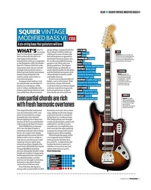 Total Guitar Squier Vintage Modified Bass VI