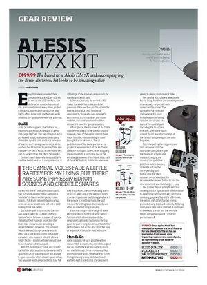 Rhythm Alesis DM7X Kit