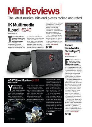 Future Music IK Multimedia iLoud