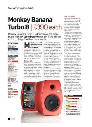Future Music Monkey Banana Turbo 8