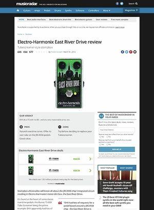 MusicRadar.com Electro-Harmonix East River Drive