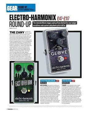 Total Guitar Electro-Harmonix Hot Tubes Nano