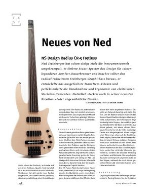 Gitarre & Bass NS Design Radius CR-5 Fretless Bass