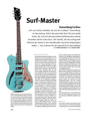 Gitarre & Bass Duesenberg Caribou, E-Gitarre