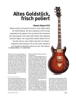Gitarre & Bass Ibanez  AR420-VLS, E-Gitarre