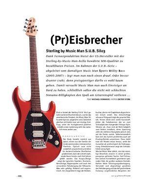 Gitarre & Bass Sterling by Music Man S.U.B. Silo3, E-Gitarre
