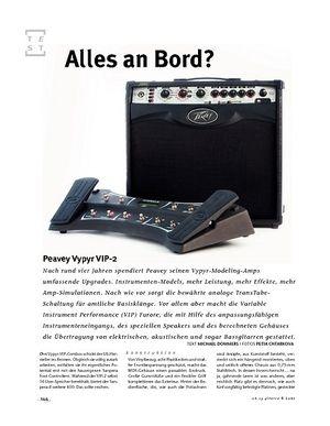 Gitarre & Bass Peavey Vypyr VIP-2, Modeling-Amp