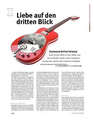 Gitarre & Bass Eastwood Airline Folkstar, Dobro/E/A-Gitarre