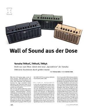 Gitarre & Bass Yamaha  THR10C, THR10X, THR5A, Kompakt-Multifunktions-Amp