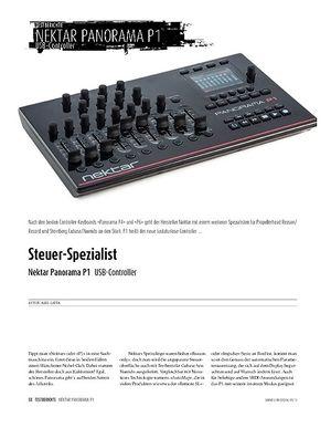 Sound & Recording Nektar Panorama P1 - DAW-Controller