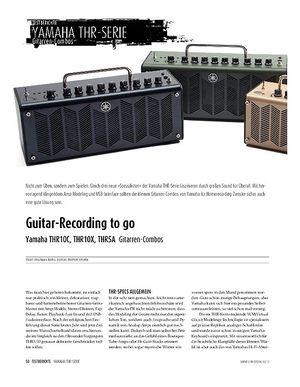Sound & Recording Yamaha THR10C, THR10X, THR5A - Gitarren-Combos
