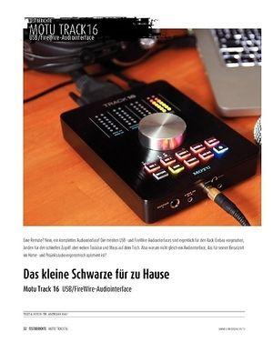 Sound & Recording MOTU Track16 - USB/FireWire-Interface
