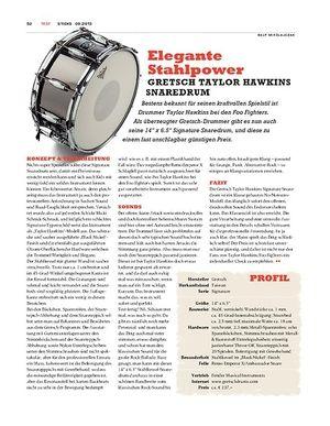 Sticks Gretsch Taylor Hawkins Signature Snaredrum - Soundqualität zum attraktiven Preis