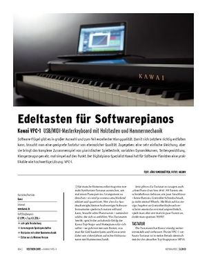 Keyboards Kawai VPC-1 - USB/MIDI-Controller