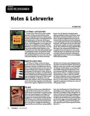 Keyboards Noten & Lehrwerke - Rezensionen