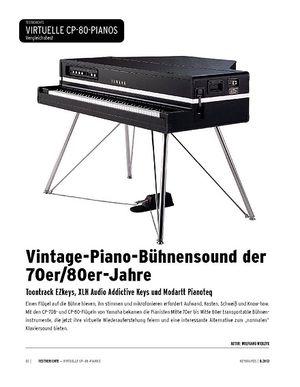 Keyboards Electric Grandpianos im Vergleich - Toontrack EZkeys, XLN Audio Addictive Keys, Modartt Pianoteq
