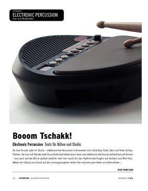 Keyboards Electronic Percussion - die angesagten Performance-Tools für Bühne und Studio