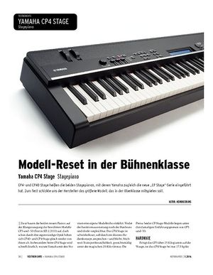 Keyboards Yamaha CP4 STAGE - Stagepiano