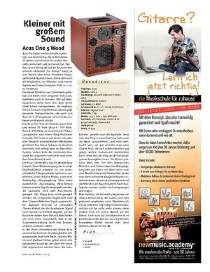 Gitarre & Bass Acus Acoustic-Amp