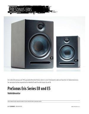 Sound & Recording PreSonus Eris Series E8 und E5