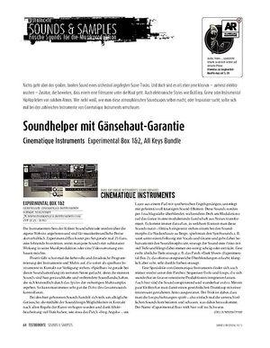 Sound & Recording Sounds & Samples - Cinematique Instruments: Fabrique, Metallic Objects, All Keys Bundle