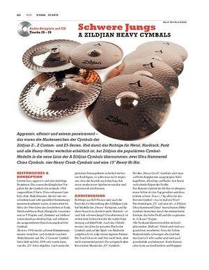 Sticks A Zildjian Heavy Cymbals