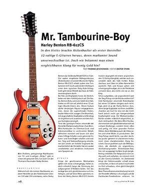 Gitarre & Bass Harley Benton RB-612CS, E-Gitarre