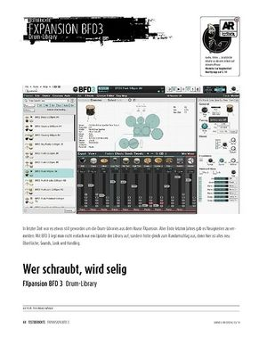 Sound & Recording FXpansion BFD 3 - Software-Instrument mit Drum- und Groove-Library