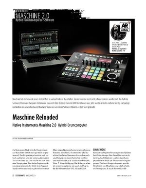 Sound & Recording Native Instruments Maschine 2.0 - Hybrid-Drumcomputer