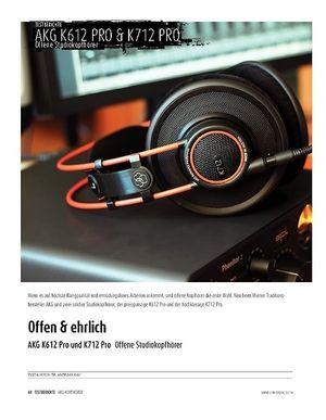 Sound & Recording AKG K612 Pro und K712 Pro - Offene Studiokopfhörer
