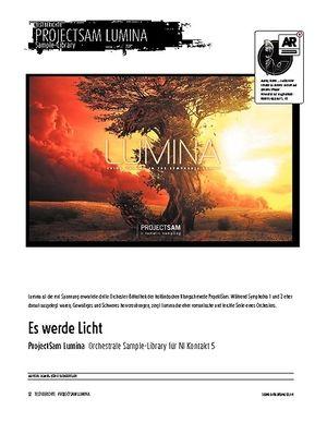 Sound & Recording ProjectSam Lumina - Orchestrale Sample-Library für NI Kontakt 5