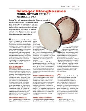 Sticks Meinl Artisan Edition Mizhar & Tar