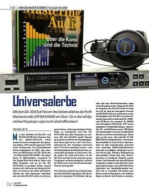 Professional Audio Tascam DA-3000